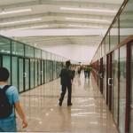 Nowoczesne wnętrza nowej hali C.H. Polros - 2003 r.