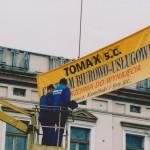"""Budowa centrum biurowo-usługowego """"TOMAX"""" w Tomaszowie Mazowieckim - 2001 r."""