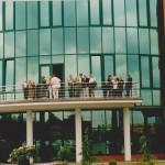 Otwarcie hali spedycyjnej i biurowca w Gospodarzu - 2002 r.