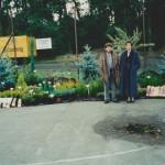 Dożynki na stadionie w Rzgowie - 2004 r.