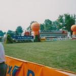 Zawody jeździeckie w skokach przez przeszkody w Tubądzinie