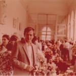 Zdobywamy nagrody na Wystawie róż-kwiatów w Łazienkach w Warszawie - 1981 r.