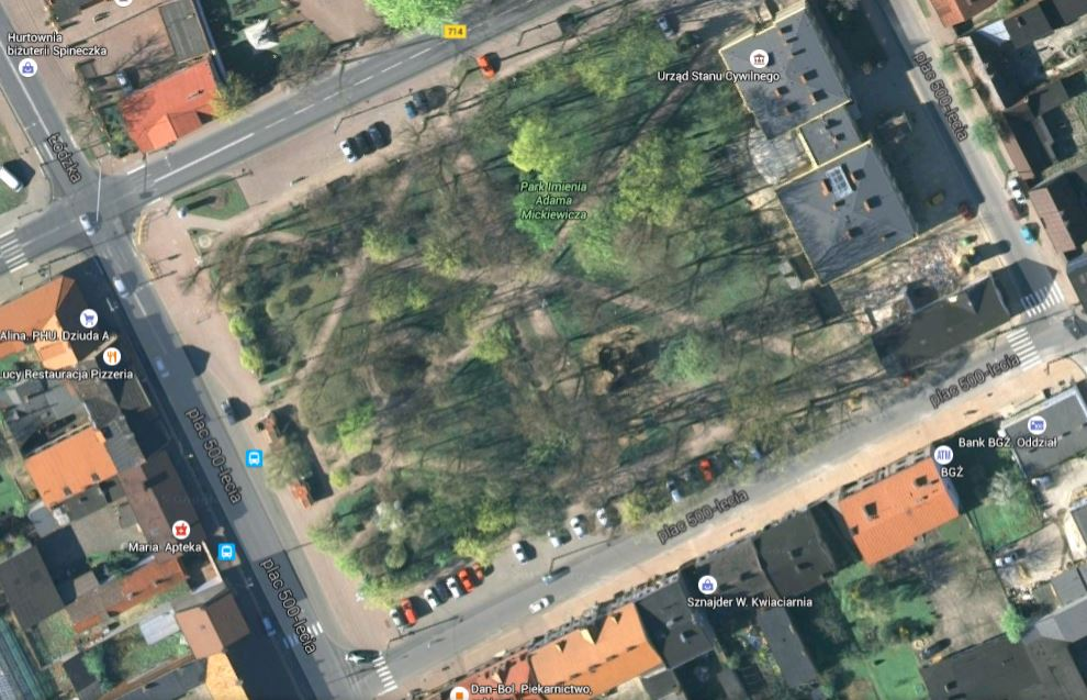 2015.10.29 - NG - dość karania mieszkanców mandatami na ul Plac 500-lecia - fot1