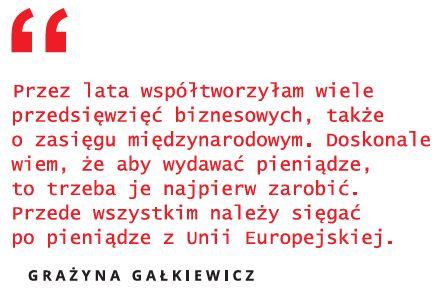 """Grażyna Gałkiewicz dla """"Nowego Rzgowa"""""""