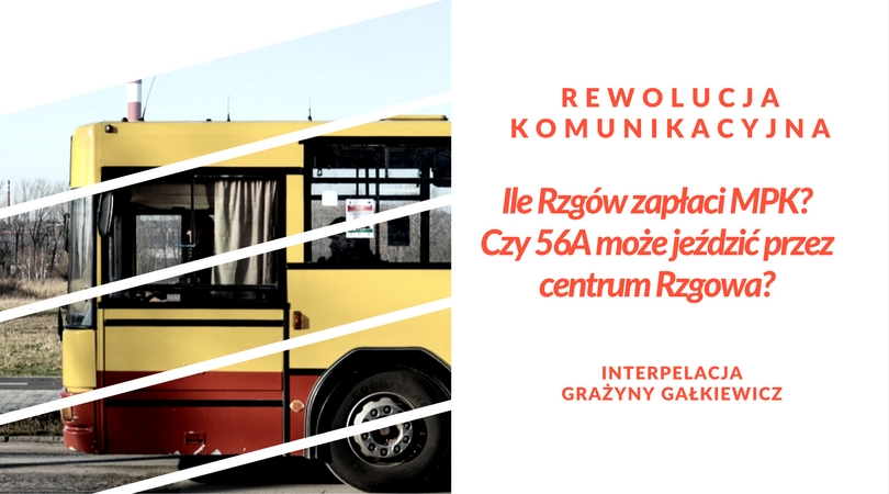Interpelacja ws. niekorzystnych zmian w komunikacji autobusów z Łodzią